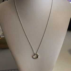 Tiffany & Co Open Heart Necklace